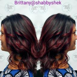 Britt Dark with Red