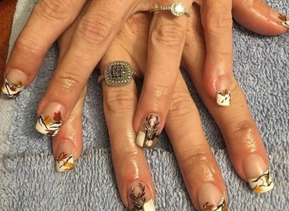 fall nails shabby shek tunkhannock pa clarks summit manicure
