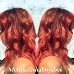 Melissa Dark Red