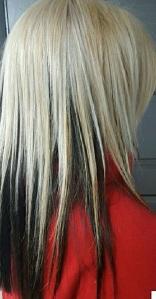 melissa shabby shek hair color cut