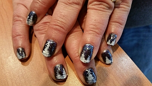 nails4 holiday nails nail art finger nails manicures tunkhannock pa