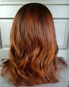 Shabby Shek Hair Color