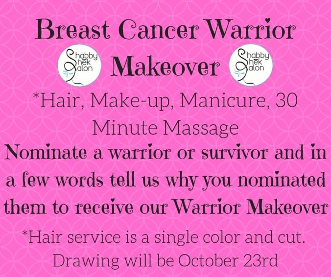 Breast Cancer Warrior Makeover