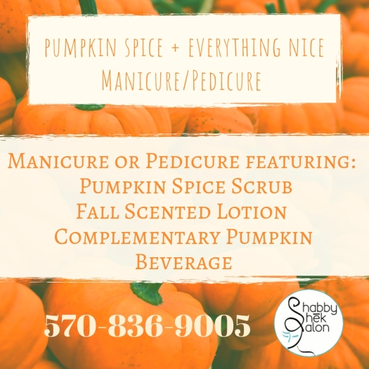 pumpkin spice + everything nicePedicure (1)