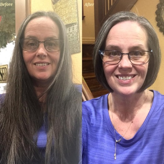 christine before and after