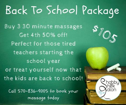 Back To School Packages