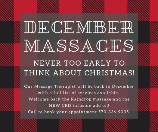 December massages