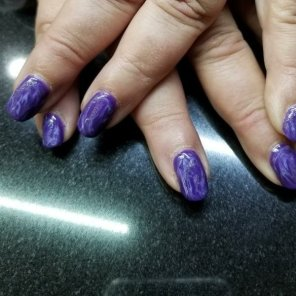 Marbalized Nails by Eva